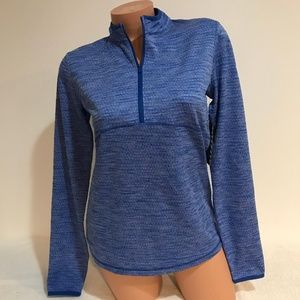 NIKE Women's Size SMALL Dry Half Zip Golf Shirt